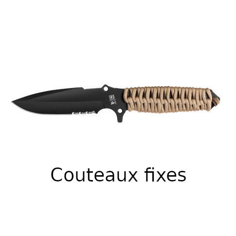 couteaux fixes outdoor